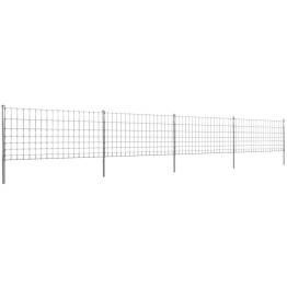 Gard 50 m din Sarma Galvanizata 100/8/15