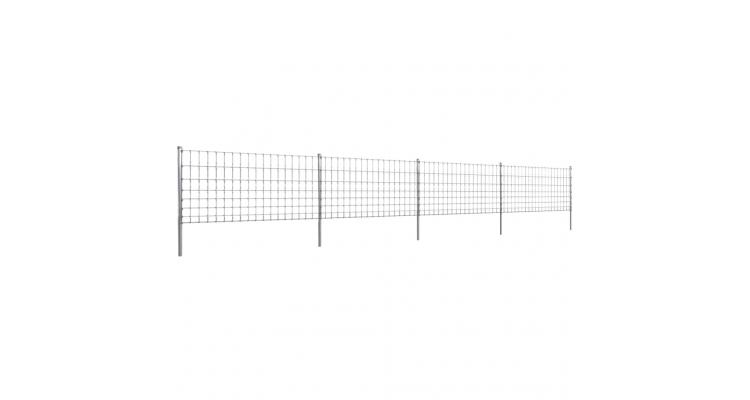 Gard 50 m din Sarma Galvanizata 100/8/15 poza kivi.ro