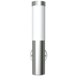 Lampa RVS rezistenta la apa pentru interior si exterior 11 x 35 cm