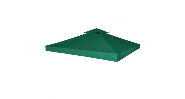 Acoperis pavilion rezistent la apa 270 g / m?/ 3 x 3 m, Verde