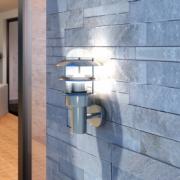 Lampa de perete din otel inoxidabil fara senzor de miscare