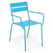 Scaun suprapozabil BALI 55x37.5x81 albastru