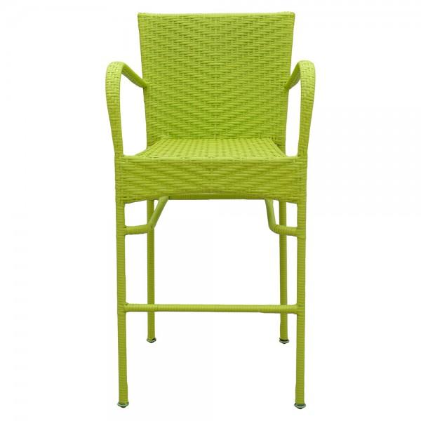Scaun bar NEELY 57x58x111.5  cm verde