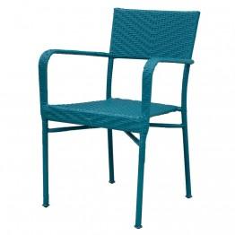Scaun suprapozabil NEELY 57x55.5x89 cm  albastru