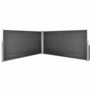 Copertina laterala retractabila, 160 x 600 cm, negru