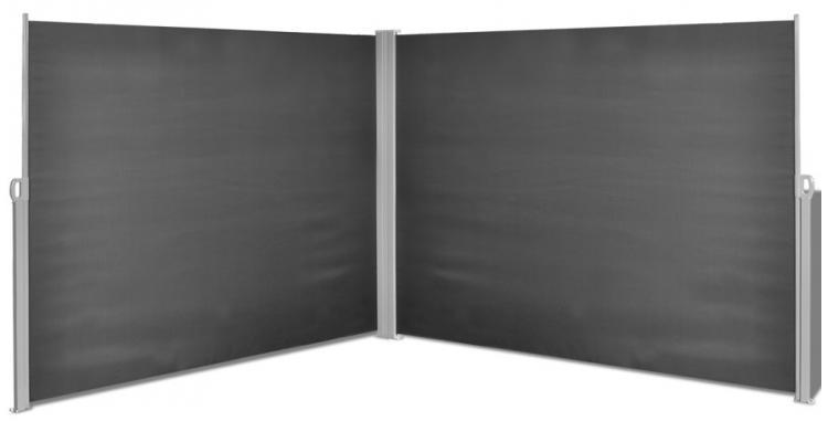 Copertina laterala retractabila, 180 x 600 cm, negru poza kivi.ro