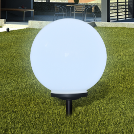 Lampa solara pentru exterior cu LED-uri + tarus, 40 cm, 1 buc