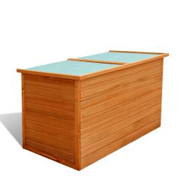 Cufar din lemn pentru gradina