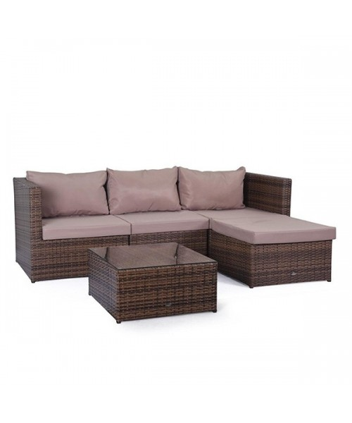 Set Mobilier Gradina Caramel Imagine