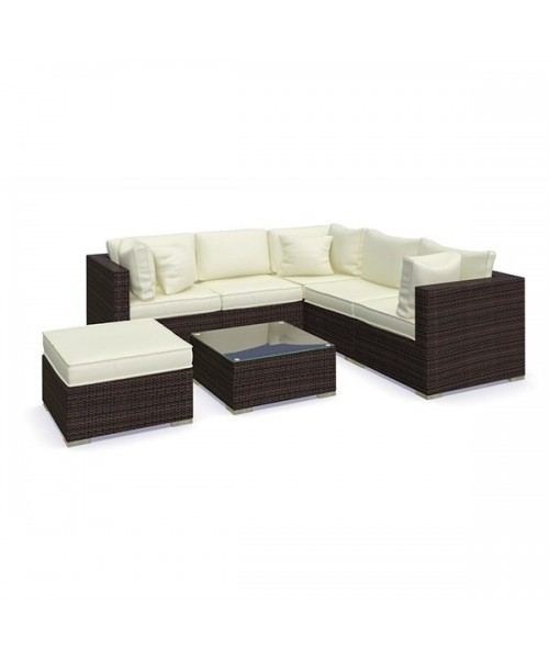 Set Mobilier Gradina Maro Ocru Imagine