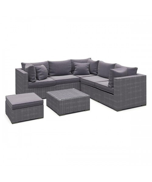 Set Mobilier Gradina Gri Imagine
