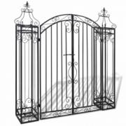 Poarta ornamentala din fier pentru drum de acces