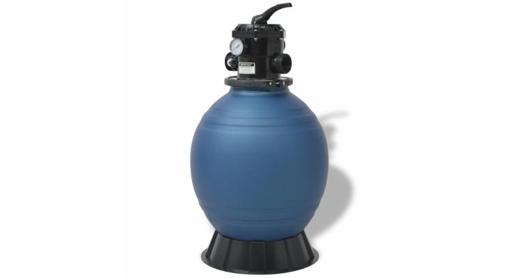 Filtru cu nisip pentru piscine 45,72 cm/460 mm rotund, albastru poza kivi.ro