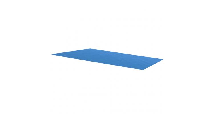 Folie dreptunghiulara pentru piscina din PE, 549 x 274 cm, albastru poza kivi.ro