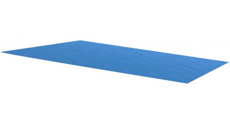 Folie dreptunghiulara pentru piscina din PE, 732 x 366 cm, albastru