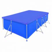 Folie pentru piscina dreptunghiulara din PE 90 g/mp 400 x 207 x 10 cm