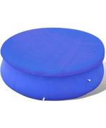 Folie pentru piscina rotunda din PE 90 g/mp 385 cm