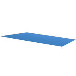 Folie solara dreptunghiulara din PE 260 x 160 cm, albastru