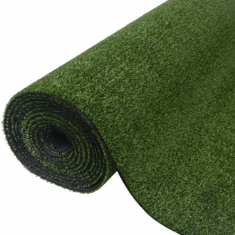 Gazon artificial, 1 x 5 m/7-9 mm, verde