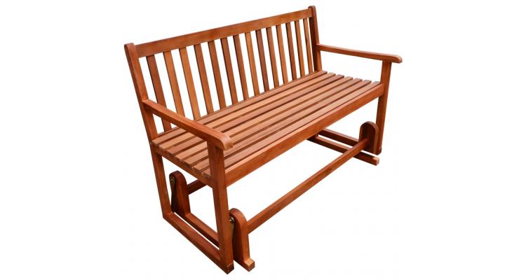 Glisor prispa/balansoar din lemn de acacia