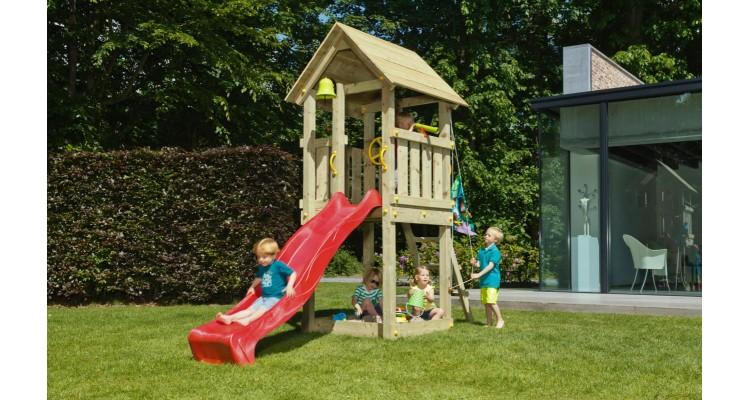 Spatiu de joaca din lemn Blue Rabbit Kiosk poza kivi.ro