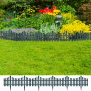 Gard pentru peluza Verde 17 buc / 10 m