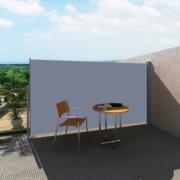 Marchiza laterala pentru terasa 160 x 300 cm Gri