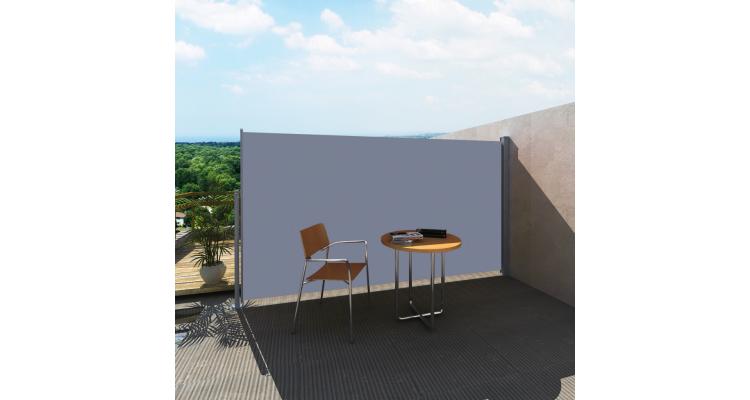 Marchiza laterala pentru terasa 180 x 300 cm Gri