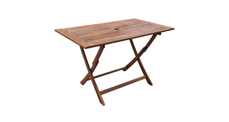 Masa de exterior din lemn de salcam