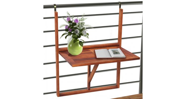 Masa din lemn pliabila pentru balcon for Modele de balcon din lemn