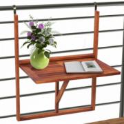 Masa din lemn pliabila pentru balcon