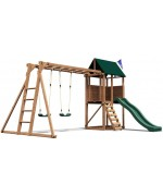 Spatiu de joaca din lemn SquirrelFort, 4.1m x 3.25 m x 2.51 m, Dunster House