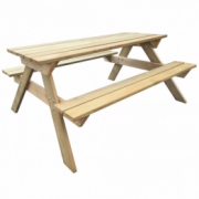 Masa picnic din lemn 150 x 135 x 71,5 cm