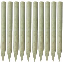 tarusi din lemn pentru gard 100 cm 10 buc