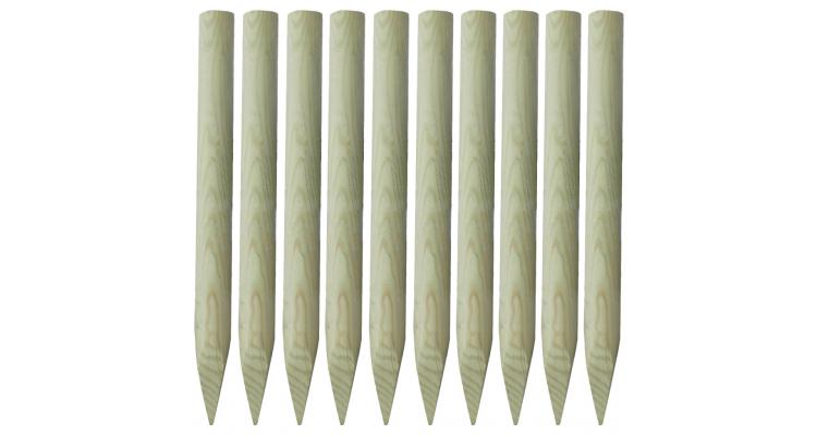 tarusi din lemn pentru gard 100 cm 10 buc poza kivi.ro