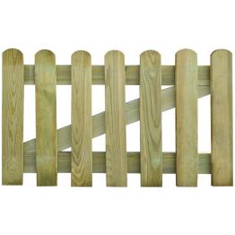 Poarta gradina din lemn 100 x 60 cm