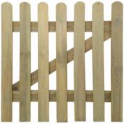 Poarta din lemn pentru gradina, 100 x 100 cm