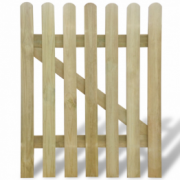 Poarta din lemn pentru gradina 100 x 120 cm