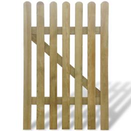 Poarta din lemn pentru gradina 100 x 150 cm