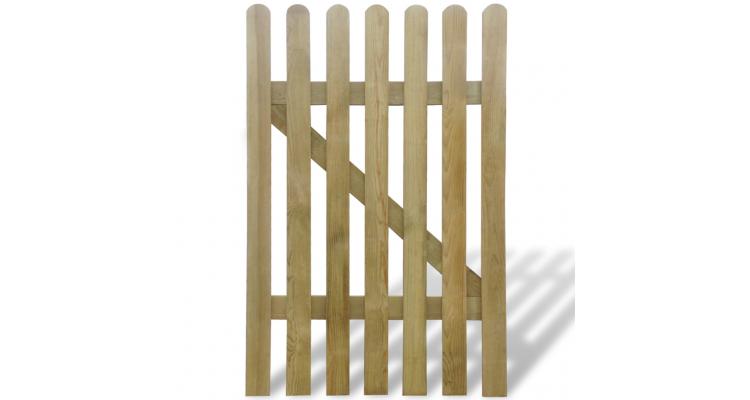 Poarta din lemn pentru gradina 100 x 150 cm poza kivi.ro