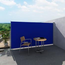 Panou separator glisant pentru terasa 160 x 300 cm, Albastru