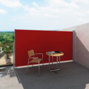 Panou separator glisant pentru terasa 160 x 300 cm, Rosu