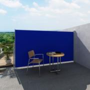 Panou separator glisant pentru terasa 180 x 300 cm, Albastru