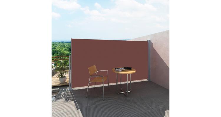 Panou separator pentru terasa 160 x 300 cm,Maro poza kivi.ro
