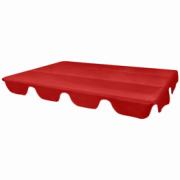 Parasolar de inlocuire pentru leagan de gradina 249x185cm, rosu