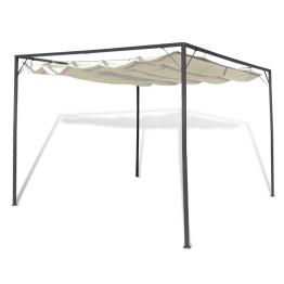Pavilion cu acoperis pliabil