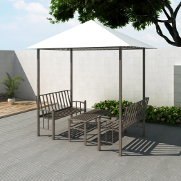 Pavilion cu masa si banca 2,5 x 1,5 x 2,4 m