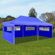 Cort petrecere pliabil 3 x 6 m Albastru