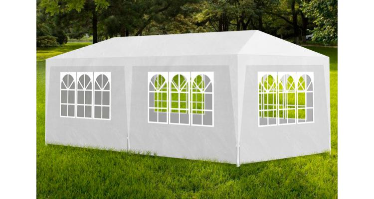Pavilion pentru petreceri, 6 pereti laterali, 3 x 6