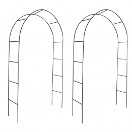 Pergola arcuita pentru gradina, 2 buc